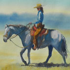 Western Paintings bu Robin Rogers Cloud